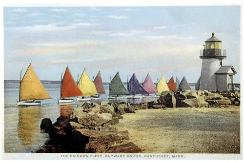 Gardiner's Rainbow Fleet Print