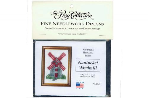 Nantucket Windmill Needlework Kit