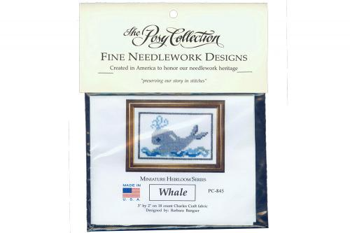 Whale Needlework Kit