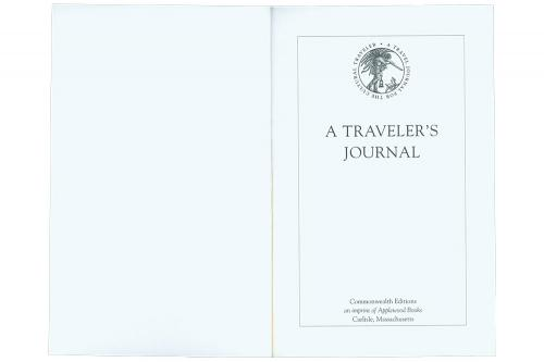Traveler's Journal from Nantucket