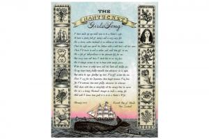 Nantucket Girls Song Card