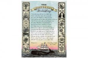 Nantucket Girls Song Card