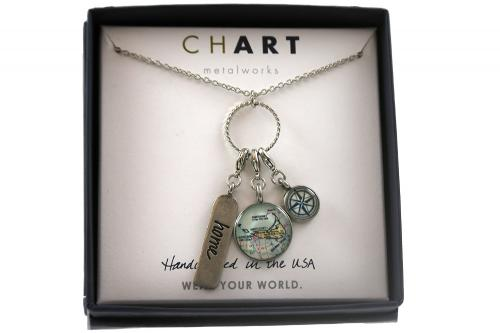 CHART Nantucket Charm Necklace
