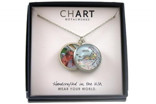 CHART Nantucket Locket Necklace