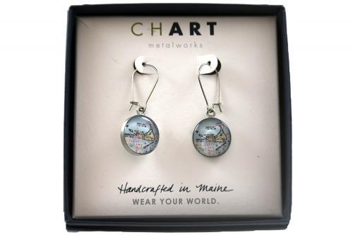 CHART Nantucket Island Dangling Earrings