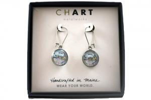 CHART Nantucket Island Dangling Earrings