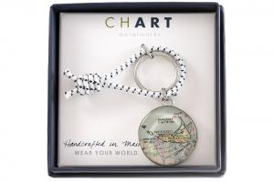 CHART Nantucket Key Fob