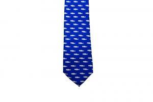 Cobalt Silk Tie