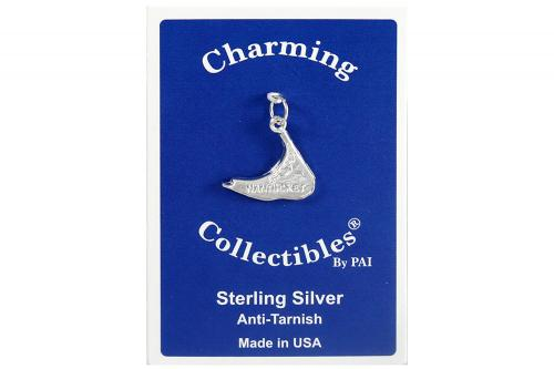 Sterling Silver Nantucket Island Charm