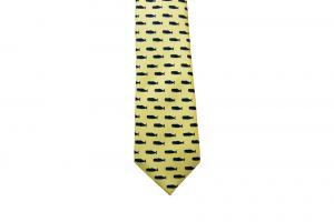 Yellow Silk Tie