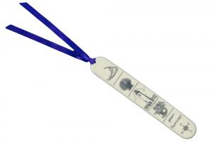 Reproduction Ivory Busk Bookmark