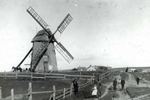 Nantucket's Old Mill, 1890