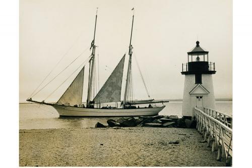 Brigantine Yankee rounding Brant Point