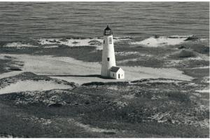 The Great Point lighthouse, 1986