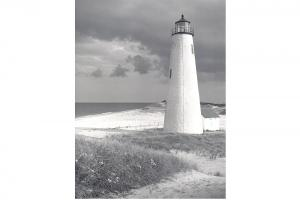 The Great Point lighthouse, circa 1960