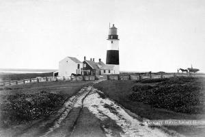 Sankaty Head lighthouse, circa 1880