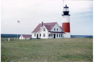 Sankaty Head lighthouse, circa 1960