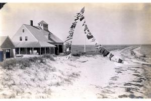 The U.S. Life Saving station on Muskeget.