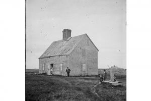 The Oldest House, circa 1860.