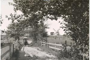 A Nantucket Vista with the Old Mill, 1897.