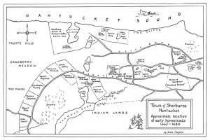 Town of Sherburne Nantucket, 1665-1680.