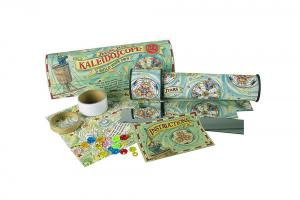 Kaleidoscope kit with white background