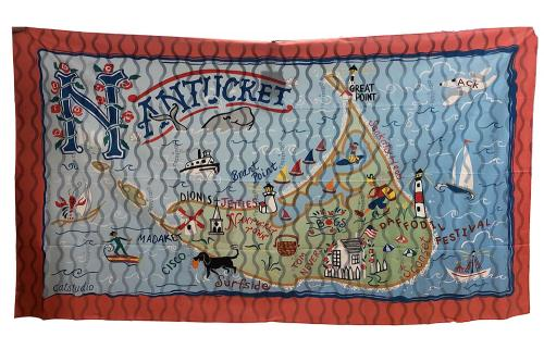 Nantucket Microfiber Beach/Pool Towel