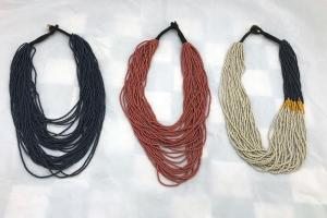 Beaded Jewel Necklaces