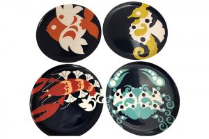 Sea Creatures Dinner Plate Set