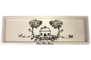 Oldest House Garden Transferware Platter