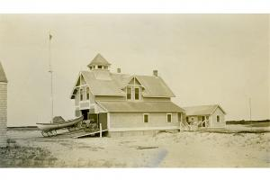 Coskata Lifesaving Station
