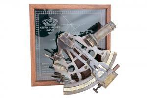 Brass Sextant Gift Set