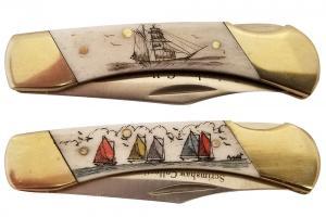 Medium Scrimshaw Pen Knives