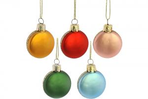 Macaroon Christmas Ornament Set