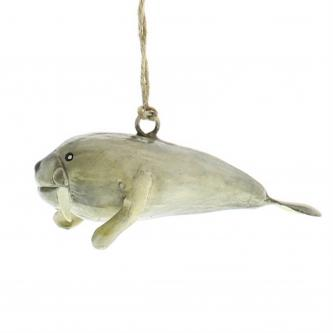 Arctic Seal Christmas Ornament