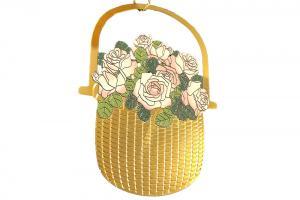 Lightship Basket Roses Ornament