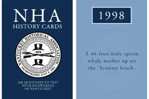 Blue NHA History cards with cover and seal