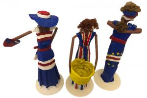 Cape Verde Newspaper Dolls