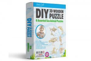 Sea Animals 3D Puzzle Set