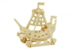 Swing Boat 3D Wooden Puzzle