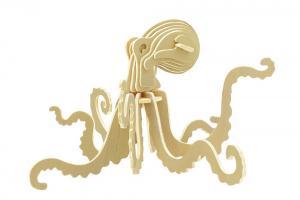 Octopus 3D Wooden Puzzle