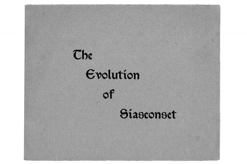 Evolution of Siasconset