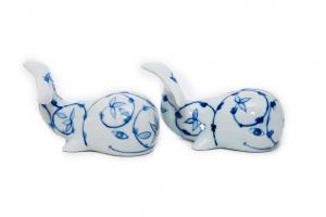 Whale Salt & Pepper Set