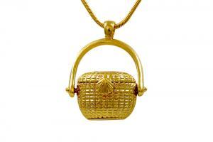 Gold Plated Lightship Basket