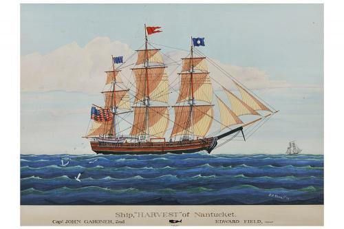 Ship Harvest of Nantucket Print