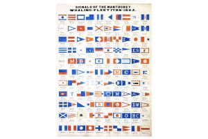 Signals of Nantucket's Whaling Fleet 1788-1865 Print